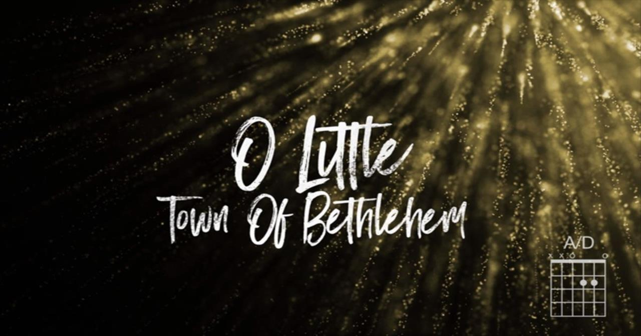 Matt Redman - O Little Town (The Glory Of Christmas)