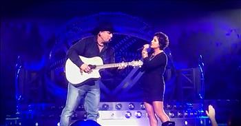 Garth Brooks Sings Duet With Cancer Survivor During Concert
