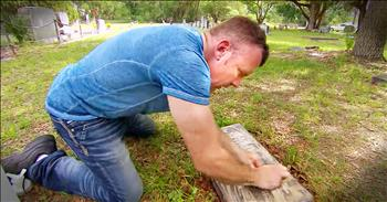 Good Samaritan Helps Keep Our Soldiers Final Resting Places Spotless