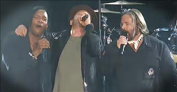 DC Talk Reunites For Performance Of 'Love Feels Like' At Dove Awards