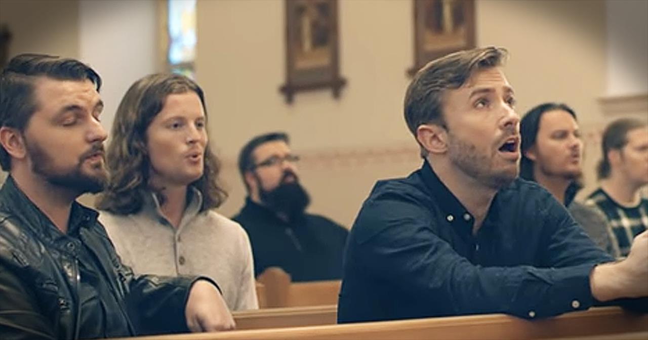 A+Cappella+Rendition+Of+%27Amazing+Grace%27+From+Peter+Hollens+And+Home+Free