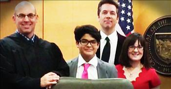 Teacher Unable To Have Kids Adopts Student