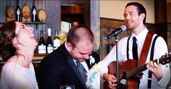 Best Man Sings Instead Of Giving A Wedding Toast
