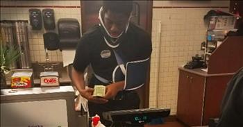 Photo Of Injured Worker At Chick Fil A Goes Viral