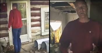 Pastor Shares Horrible Inside Cabin Of Man Who Died Alone