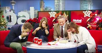 News Anchor Shares Hilarious Baking Fail On-Air