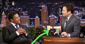 Denzel Washington Reunites With His Childhood Librarian
