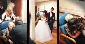 Bride And Groom Leave Wedding To See Grandma In Hospital