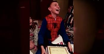 Step-Dad Officially Adopts 11-Year-Old