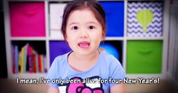 Little Girl Shares Sweet Thoughts On New Year's Resolutions