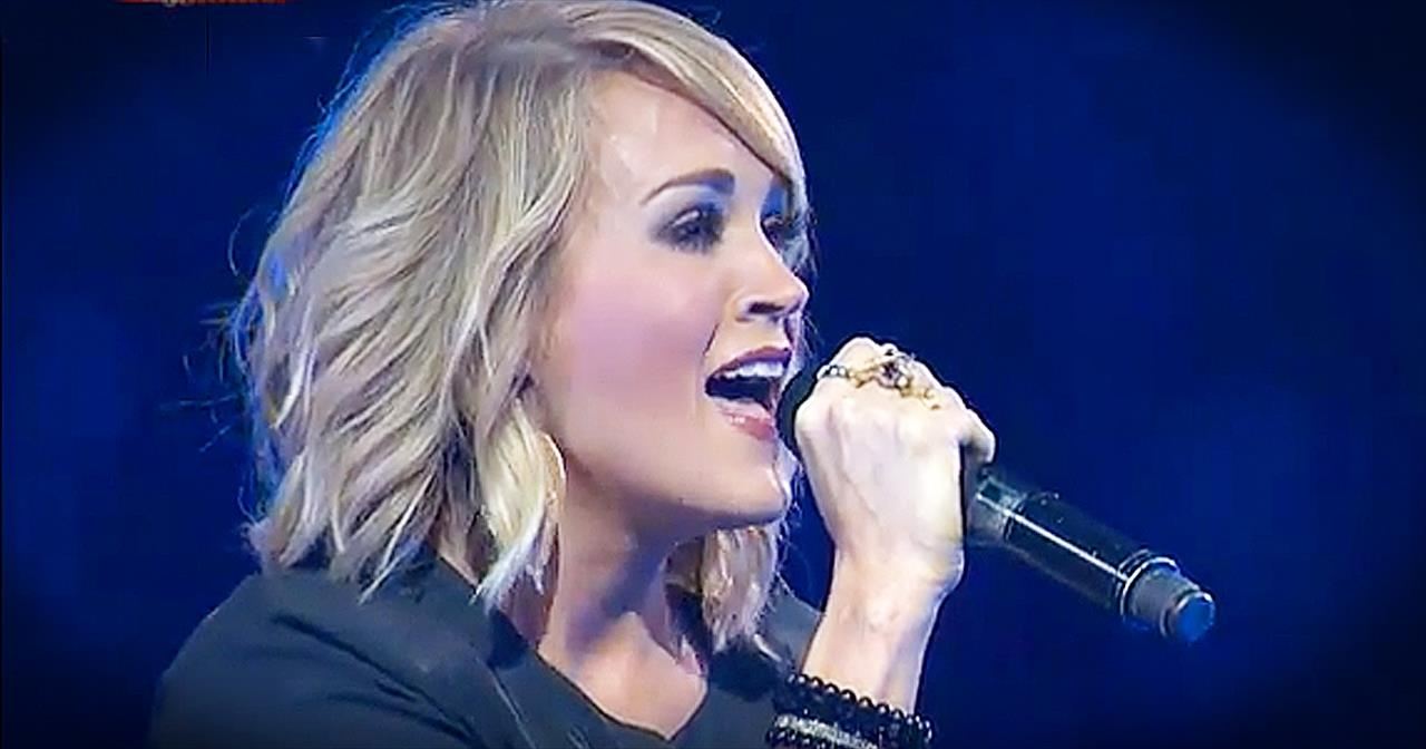 Carrie Underwood Sings 'Something In The Water' At Passion