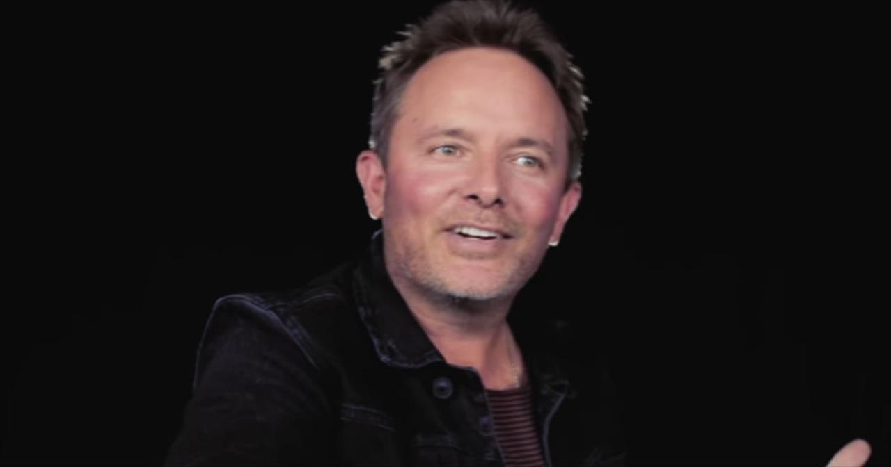 Chris Tomlin Is Up Close and Personal Describing How 'My Wife Discovered 'Good Good Father'