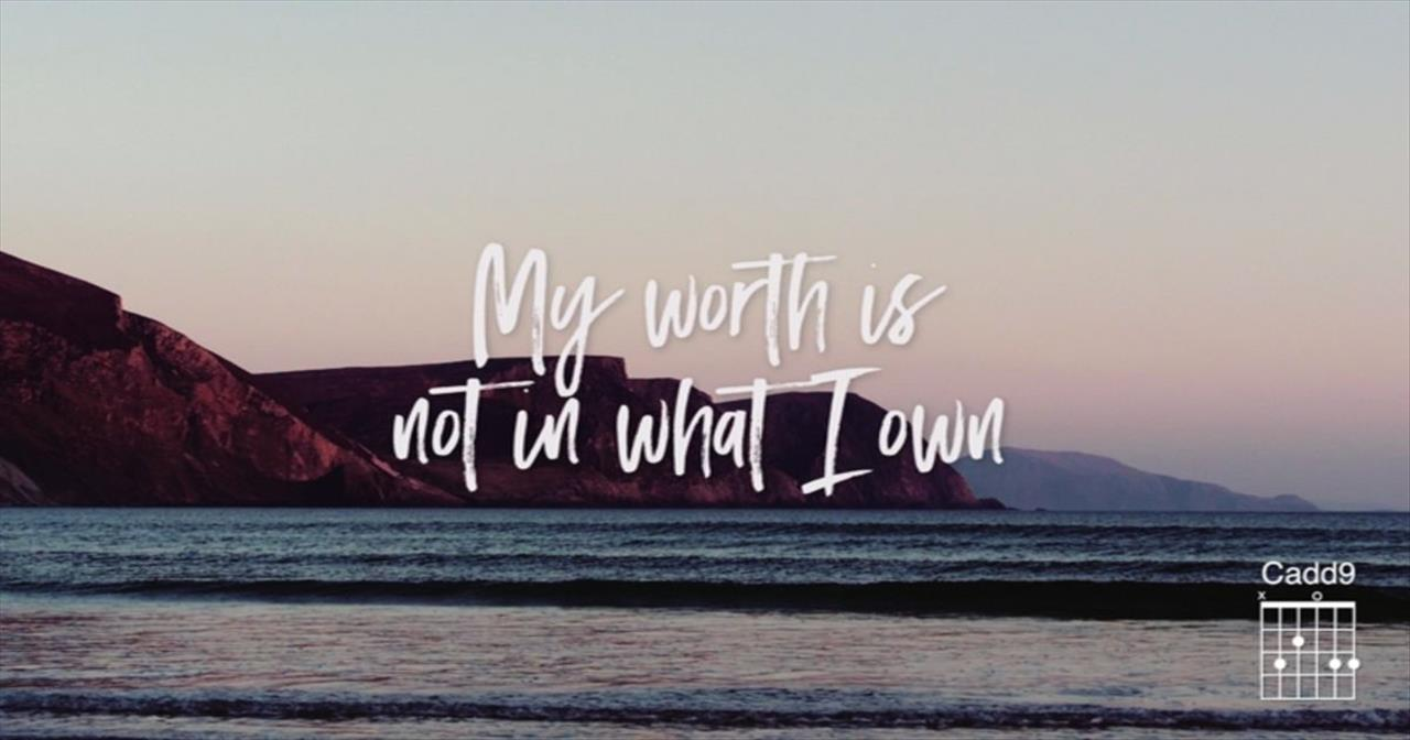 Keith and Kristyn Getty - My Worth Is Not In What I Own (Lyric Video) ft. Fernando Ortega