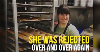Young Woman With Down's Syndrome Opens Own Bakery After Being Turned Down For Jobs