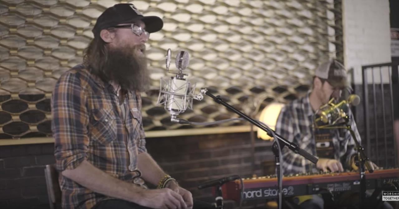 Crowder Sings 'Forgiven' And Describes How It Was Inspired By A Painting