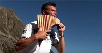 David Döring's Unbelievably Beautiful Pan flute Rendition Of 'Amazing Grace'