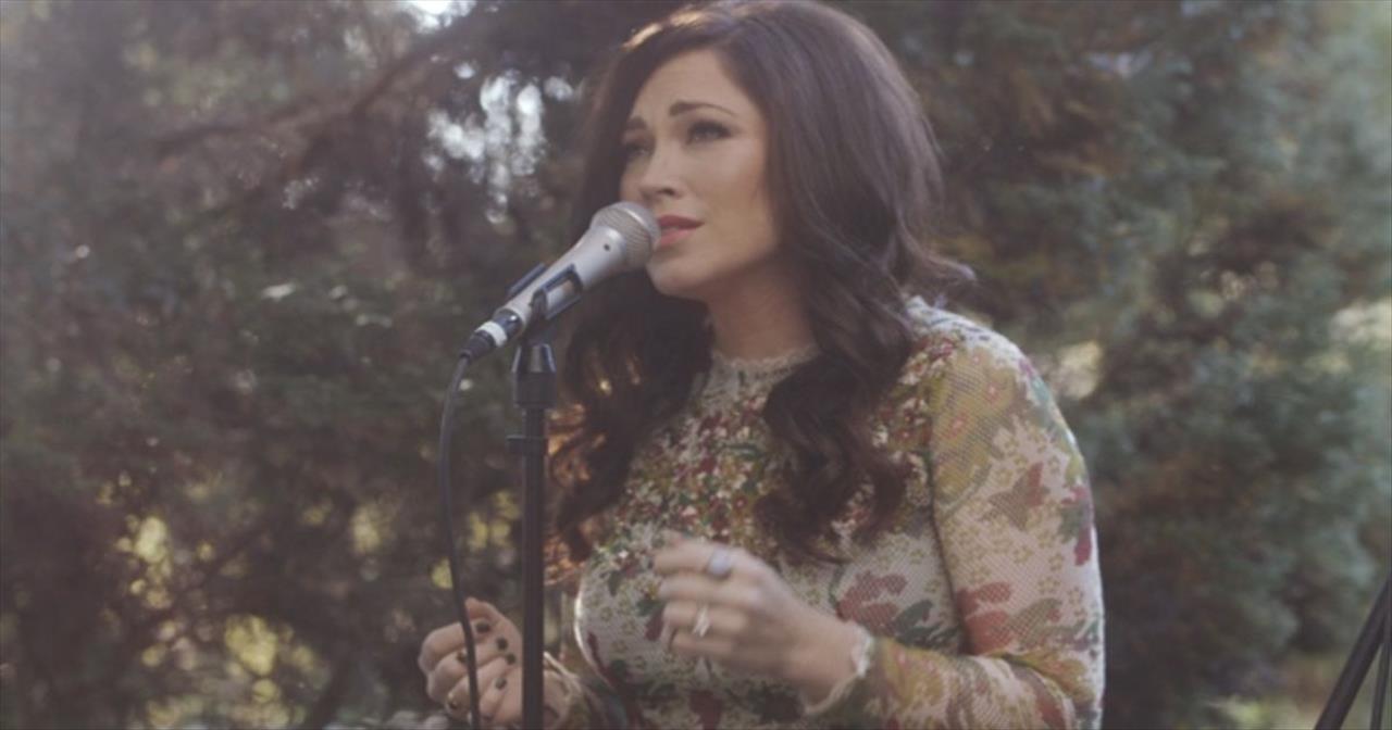 Beautiful Acoustic Performance of 'Fall Afresh' by Kari Jobe