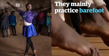 Young Ballet Dancers In Kenya Slum Get Their Start Dancing Barefoot On A Dirt Floor
