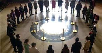 Chamber Choir Stuns With 'Precious Lord' Sung In Rotunda Of State Capitol