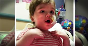Get Ready To Fall In Love With This Precious Little Girl Singing Overcomer