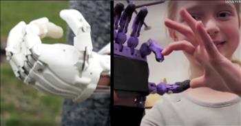 Kids Engineering Prosthetic Limbs For Disabled Kids