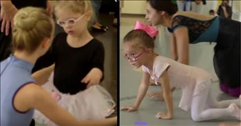Disabled Girls Fulfill Ballerina Dreams