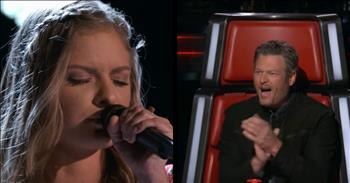 Superb Blind Audition Already Has The Voice Judges Talking About A Winner