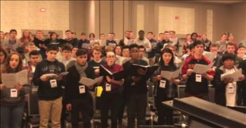 The Most Incredible Choral Star Spangled Banner We Have Ever Heard