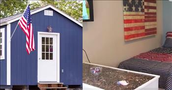 Tiny House Village Provides Community For Homeless Veterans