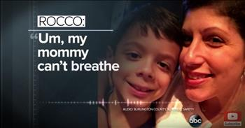 7-Year-Old Hero Calls 911 And Saves His Asthmatic Mom's Life