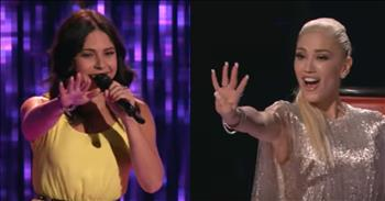 Singer's Unique Twist On A Cash Classic Wows The Judges