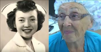 America's Oldest Working Nurse Is A Living Angel