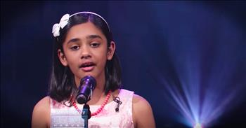 11-Year-Old Wows With Her Angelic Performance Of 'Ave Maria'