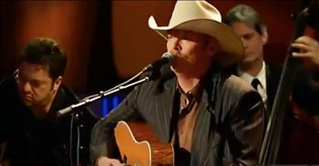 'I Want To Stroll Over Heaven With You' - Classic Alan Jackson Worship