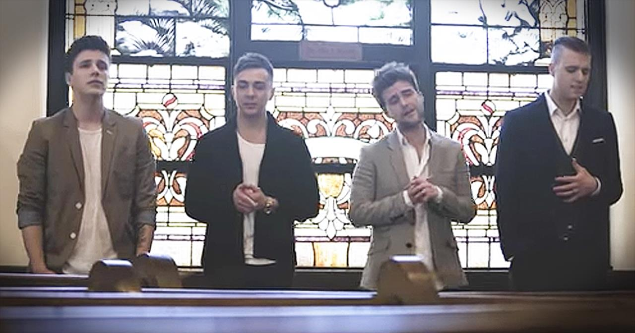 Anthem Lights Performs Worship Medley Of 'Because He Lives' And 'Arise My Love'