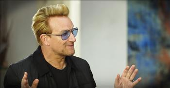 Bono Finds God After Rough Childhood