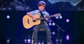 Incredible 8-Year-Old Guitarist Performs 'Blackbird'
