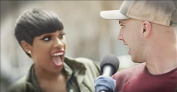 Jennifer Hudson Shares Surprise Duet With Street Musician
