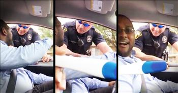 Cop Helps Wife Pull Off Epic Pregnancy Announcement