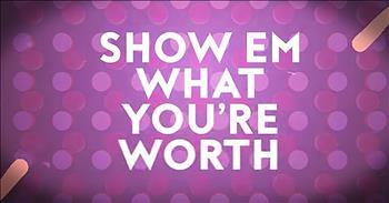 'What You're Worth' - Inspiring Mandisa Lyric Video