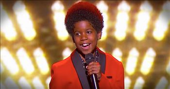 Boy Sounds Just Like The Jackson 5 Singing 'One More Chance'