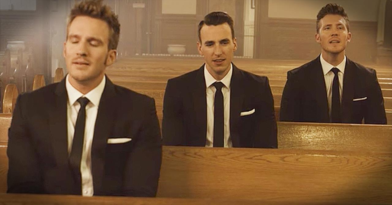 Gentlemen Trio Sing 'Let It Be' Inside Church