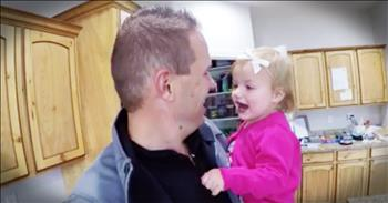 Parents Relate To Funny Montage Of Interrupting Toddler