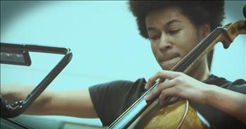 17-Year-Old Cellist Performs Original Take On 'Hallelujah'