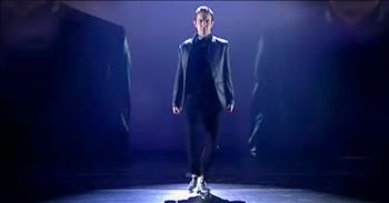 Irish Tap Dancer Performs To 'Somewhere Over The Rainbow'