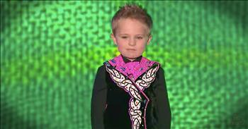 5-Year-Old Irish Dancing Champion Taps Away