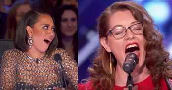 Deaf 29-Year-Old Sings Original Song For Judges