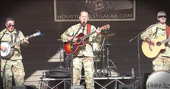 Six String Soldiers Perform 'Proud To Be An American'