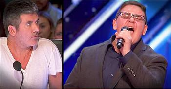 Nervous 16-Year-Old Earns Golden Buzzer With Jackson 5 Audition