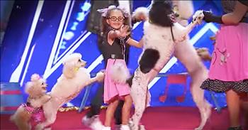 Family Auditions With Their Talented Dogs